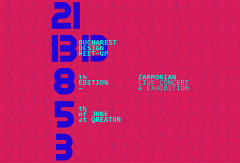 Live Concert + Exhibition at the Bucharest Design Meet-up #8 on June 5th